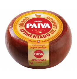 Paiva Cured Cheese Coated with Paprika 500g