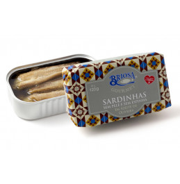Sardines Skinless and Boneless in Olive Oil - 120 gr