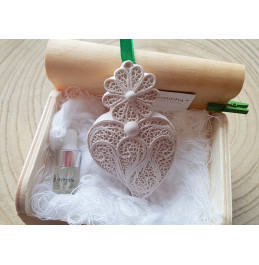 Medium Lavender Heart in Box with 2 ml recharge